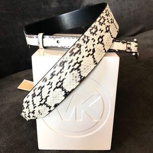 Michael Kors Genuine Snakeskin Guitar Strap